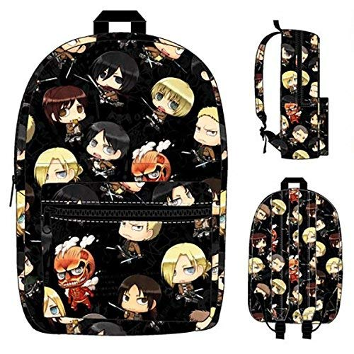 BIOWORLD Attack On Titan Character All Over Print Backpack