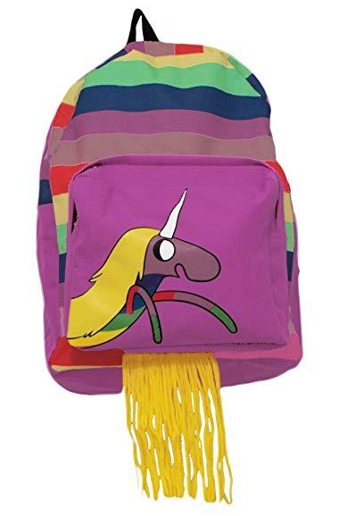 Bioworld Adventure Time Lady Rainicorn Hooded Backpack, Multi-Colored