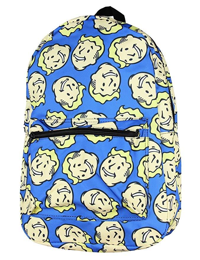 Fallout Vault Boy Bobblehead School Backpack