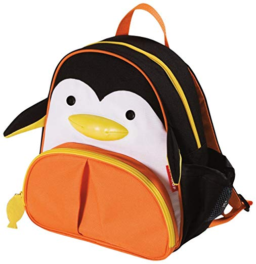 Skip Hop Zoo Toddler Kids Insulated Backpack Picasso Penguin, 12-inches, Multicolored