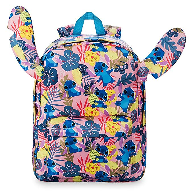 Disney Stitch Tropical Ear Backpack for Girls