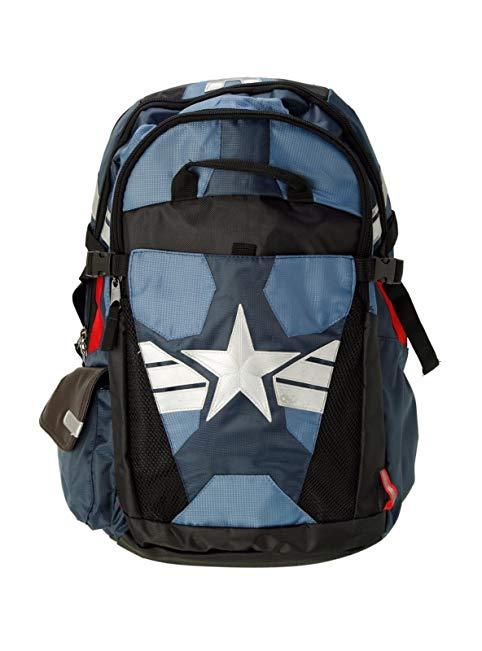 Captain America Suit Up Better Built Backpack